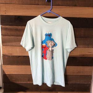 Kaws Uniqlo Sesame Street Men's Shirt